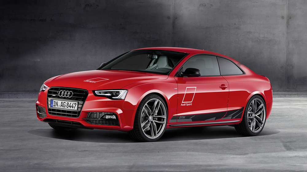 audi cong bo a5 coupe dtm selection Audi A5 Coupe DTM Selection thay đổi theo phong cách xe đua